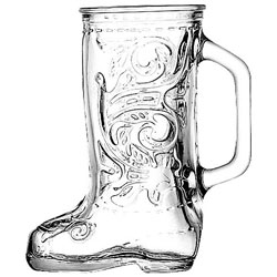 Anchor Hocking Glass Boot Beer Mug, 12.5 Ounce ..