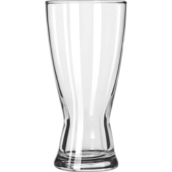 Libbey 183 15 Ounce Hourglass Pilsner Glass. Case of 36