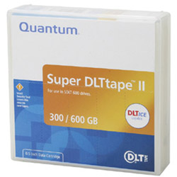 Quantum Super DLTtape II - Super DLT X 20 - 300 GB - Storage Media (1