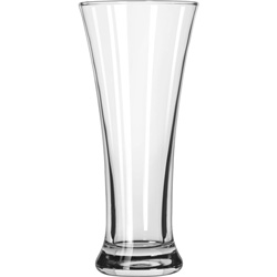 Libbey 19 11.5 Ounce Flare Pilsner Glass. Case of 36