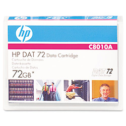 HP DAT-72 - 36 GB / 72 GB - Blue - Storage Media