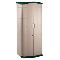 Rubbermaid Large Plastic Storage Shed 17 Cubic Feet Gray