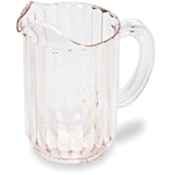 Rubbermaid Clear Bouncer II Pitcher, 48 Ounce. Sold Individually