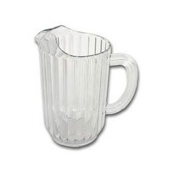 Rubbermaid-Clear Bouncer Pitchers 48 Oz.. Sold Individually