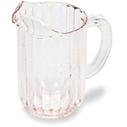 Rubbermaid Clear Bouncer Pitcher, 72 Ounce. Sold Individually