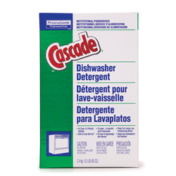 Cascade® with Phosphates Automatic Dishwasher Detergent 85 oz Box, Case of 6