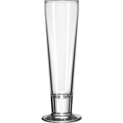 Libbey 3828 12 Ounce Catalina Pilsner Glass. Case of 24