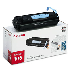 Canon 106 Toner Cartridge - 1 x Black - 5000 Pages