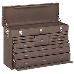 "Kennedy 00094 Machinist Chest 11"" Driveawer Brown"