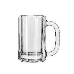 Libbey 5021 12 Ounce Paneled Mug. Case of 12