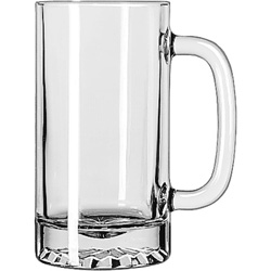 Libbey 5092 16 Ounce Premium Tankard Pint Glass. Case of 12