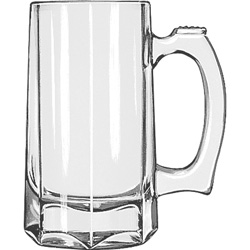 Libbey 5206 12 Ounce Beer Stein. Case of 12