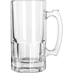 Libbey 5262 1 Liter Super Beer Mug. Case of 12