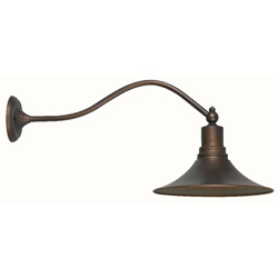 Dark Sky Kingston 9099-86 1 Light Outdoor Lantern, Antique Copper