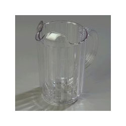 Clear Carlisle� Polycarbonate Pitcher, 32 Ounce. Sold Individually