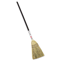 Rubbermaid Brown Broom Lobby 100 percent Corn