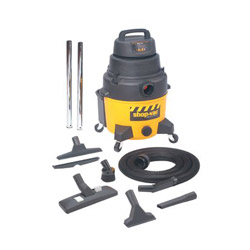 Shop Vac 8-Gallon Poly Ind. Superquiet Gp w/Dry Va