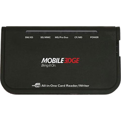 Mobile Edge All-in-one Usb 2.0 Card Reader/writer - Card Reader - Hi-speed Usb. Sold Individually Picture