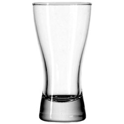 9 Oz. Bavarian Rim Tempered Pilsner Glass. Case of 36