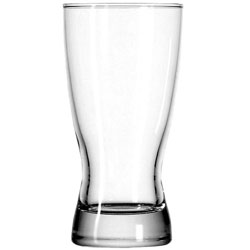 10 Oz. Bavarian Rim Tempered Pilsner Glass. Case of 36