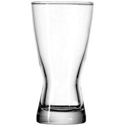 12 Oz. Bavarian Rim Tempered Pilsner Glass. Case of 36