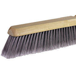 "Weiler 24"" Fine Sweep Floor Brush Blach Horsehair"