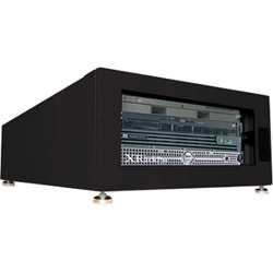 Gizmac Accessories XrackPro2 Rackmount Noise Reduction Enclosure Cabinet Rack