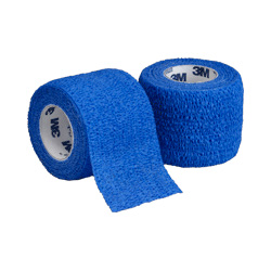 "Coban™ Self-Adhesive Wrap Blue, 2"" x 5 Yard Roll"