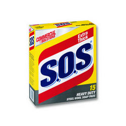 Buy S.O.S Steel Wool Soap Pads