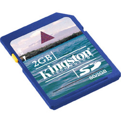 Kingston Flash Memory Card - 2 Gb - Sd. Sold Individually Picture