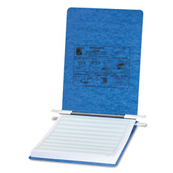 Acco Pressboard Hanging Data Binder for 8 1/2 x 11 Unburst Sheets, Light Blue