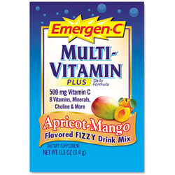 Emergen C and reg Immune Defense Drink Mix Apricot Mango Single Pack Pack of 30 Pack of 30