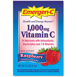 Emergen C and reg Immune Defense Drink Mix Raspberry Single Pack Pack of 50 Pack of 50