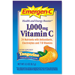 Emergen C and reg Immune Defense Drink Mix Tangerine Single Pack Pack of 50 Pack of 50