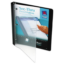 "Avery See Thru™ 1/2"" View Binder, Black"