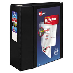 "Avery EZD® Nonstick 5"" View Binder, Black"