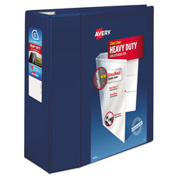 "Avery EZD® Nonstick 5"" View Binder, Blue"