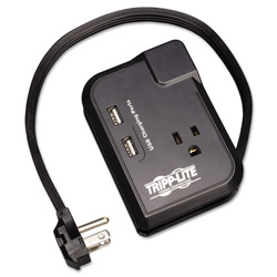 Tripp Lite TRAVELER3USB - Surge Suppressor