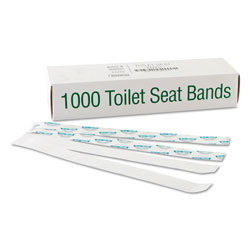 "Bagcraft Printed Toilet Seat Band, ""Sani/Shield "", 16"""