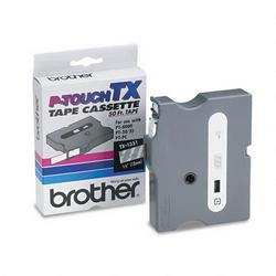 1/2in tape for Brother PT30/35/8000(XL) PTPC whiteonclear TX1351in