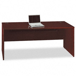 Bush Quantum Series Credenza, 72w x 24d x 30h, Harvest Cherry Frame/Top