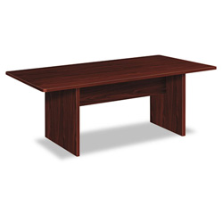 Basyx by Hon BL Laminate Series Rectangular Conference Table, 72w x 36d x 29-1/2h, Mahogany