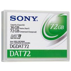 - DAT-72 - 36 GB / 72 GB - Storage Media DGDAT72