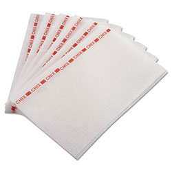 "Chix® Food Service Towels, 13""x21"", White, Case of 150"