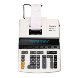 Canon CP1213DII 12-Digit Heavy-Duty Print Calculator with Fluorescent Display