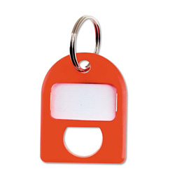Carl Replacement Security Cabinet Key Tags, Red