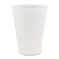 9 Oz Cold Plastic Cups, Clear, Pack of 2500 25 Packs Per Case..100 Cups Per Pack..