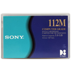 - 8mm Tape - 2.5 GB / 5 GB - Storage Media QG112M