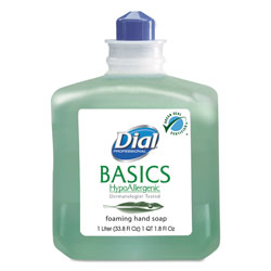 Dial Professional Basics Foaming Hand Soap Refill, 1000 mL, Honeysuckle