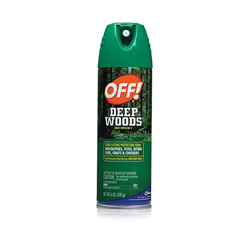 OFF!® Deep Woods OFF!, 6 oz Aerosol Can, Unscented